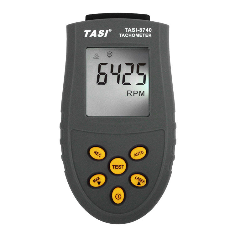 Costbuys  TASI-8740 Non-contact Digital Tachometer rpm meter 2.5~99,999RPM Laser Photo Tachometer Speed measurements Tester