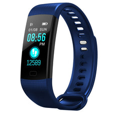 Women Men Smart Wrist Band Bluetooth Heart Rate Blood Pressure Pedometer Clock LED Sport Bracelet Watch For Android IOS