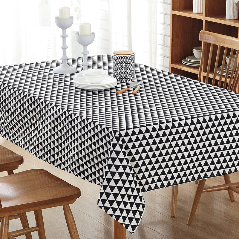 Attirant Table Cloth Cotton Rural Square Tablecloths Rectangular Dinner Table Cover  Coffee Table Tea Home Textile