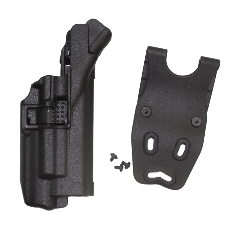 Costbuys  Tactical Holster LV3 Belt Hunting Airsoft Belt Gun Holster Flashlight for GL 17 19 22 31 32