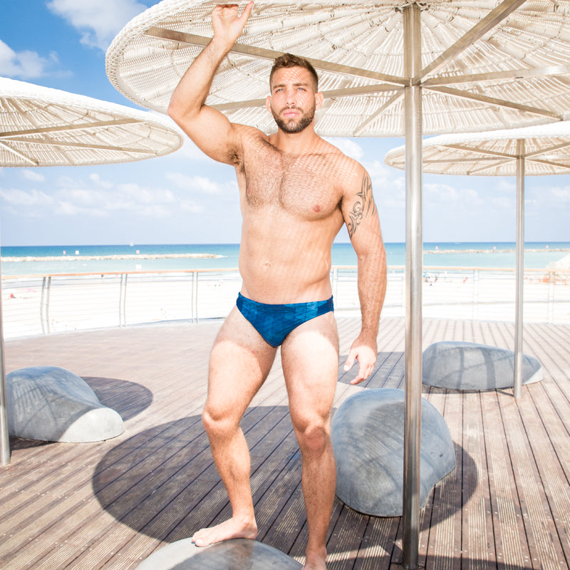 bb571eb28c Sexy Men's Swimwear Swimsuits Swimming Briefs Bikini Gay Penis Pouch Low  Rise Camo Swim Bikini Man