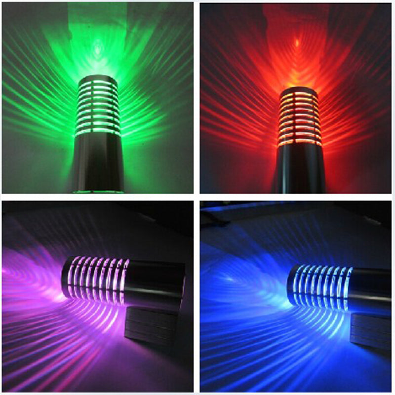 Costbuys  Modern led wall lamps 3W Atmosphere led lighting fixtures Spot wall lights for KTV bar indoor home wall decoration - R
