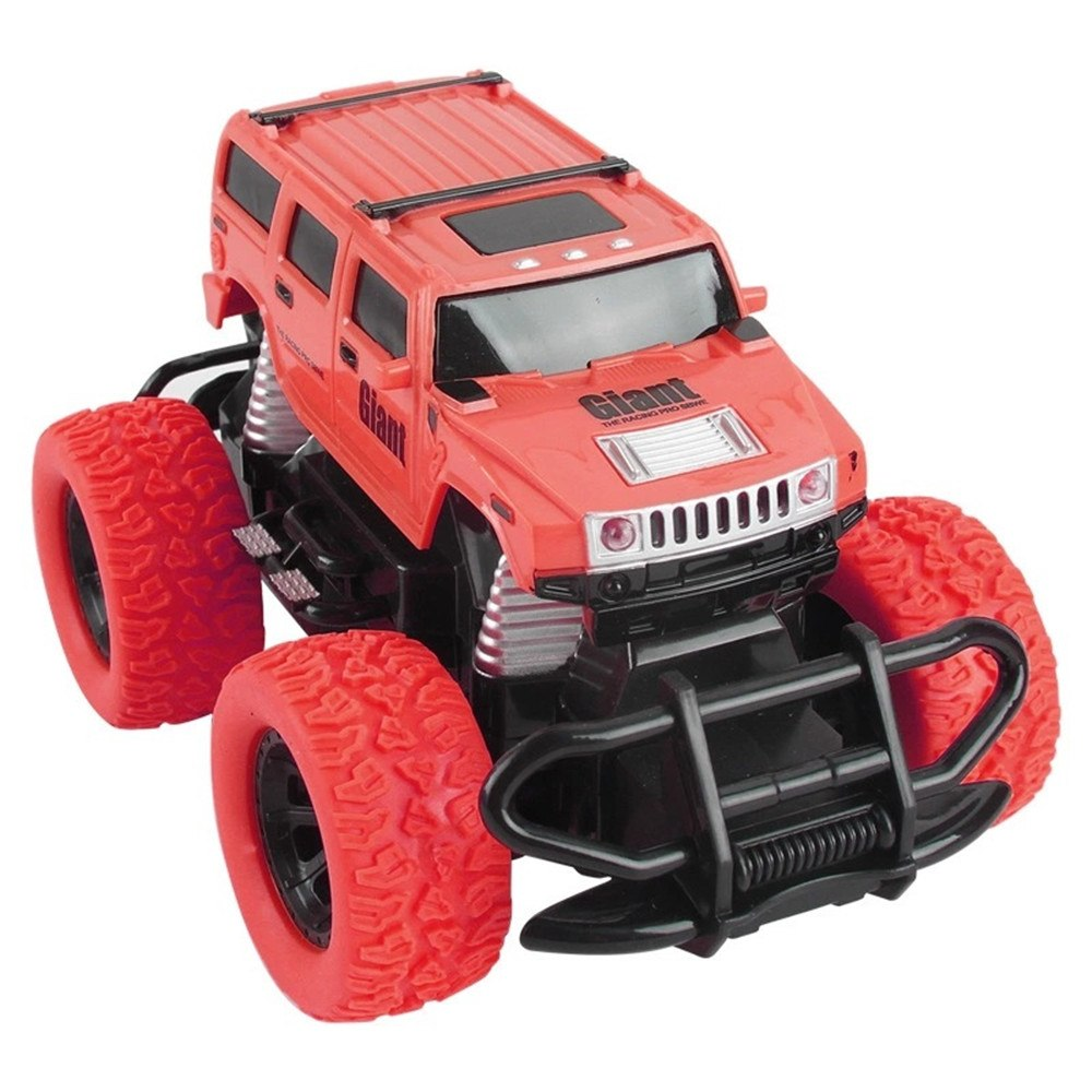 Costbuys  Tensheng Rc Car Off-road Truck Light Without Battery Toy  Remote Control Toys Controller Model Toy - red 2