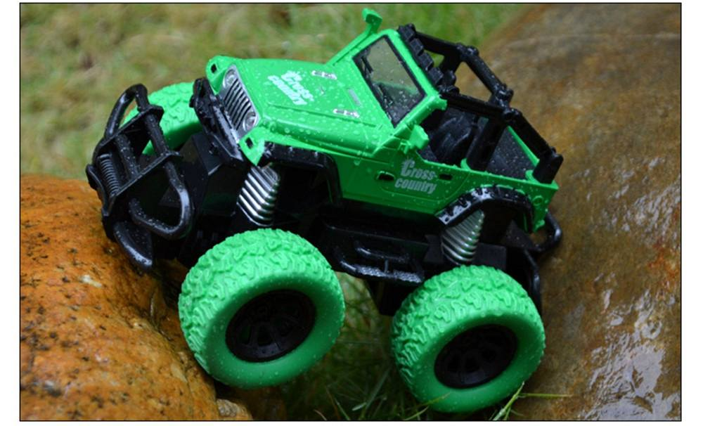 Costbuys  Tensheng Rc Car Off-road Truck Light Without Battery Toy  Remote Control Toys Controller Model Toy - green