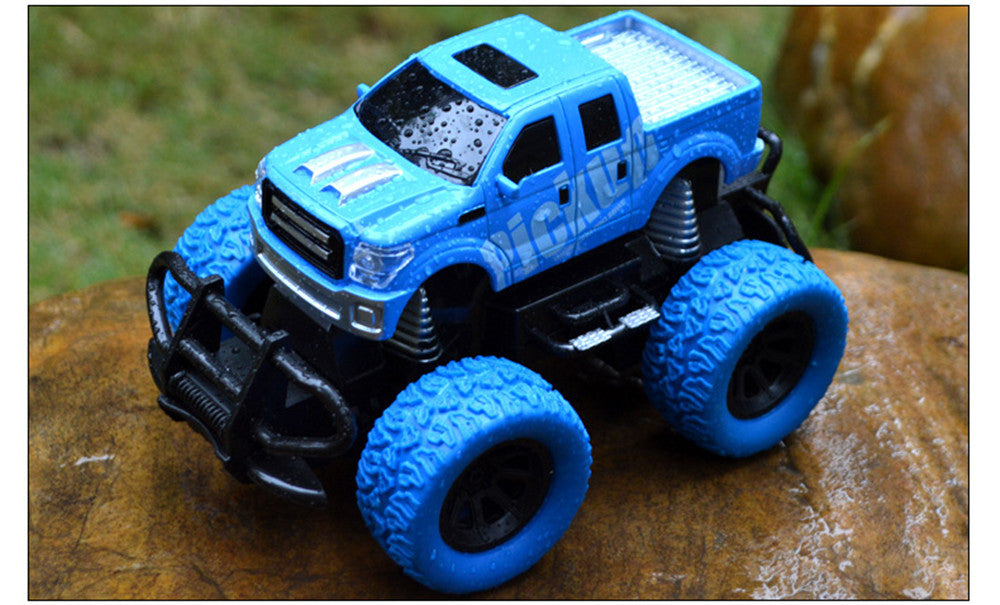 Costbuys  Tensheng Rc Car Off-road Truck Light Without Battery Toy  Remote Control Toys Controller Model Toy - blue