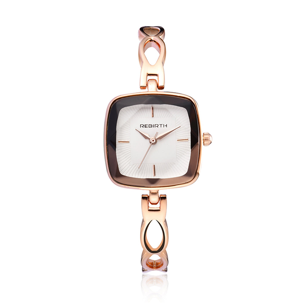 Costbuys  Watch Women Watches Rose Gold Bracelet Watch Luxury Ladies Watch saat montre femme relogio feminino - Rose