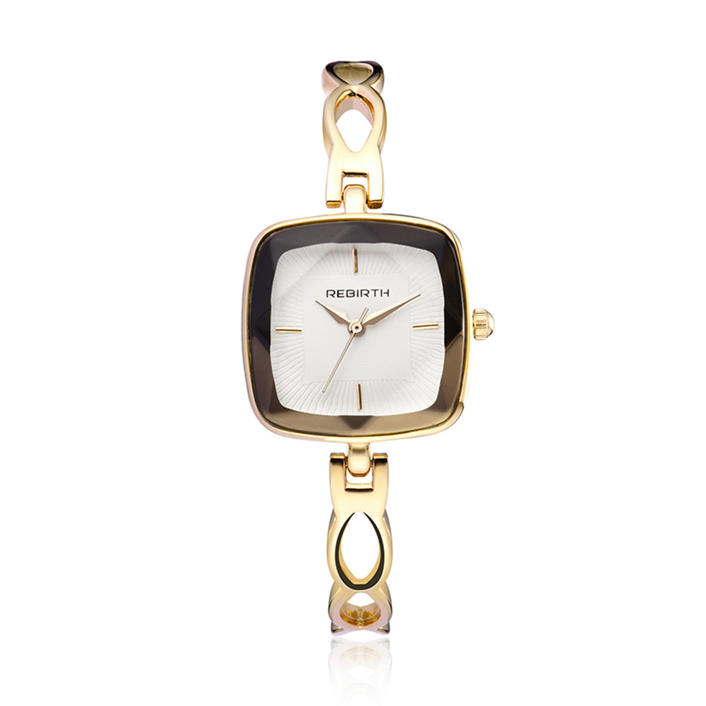 Costbuys  Watch Women Watches Rose Gold Bracelet Watch Luxury Ladies Watch saat montre femme relogio feminino - Gold