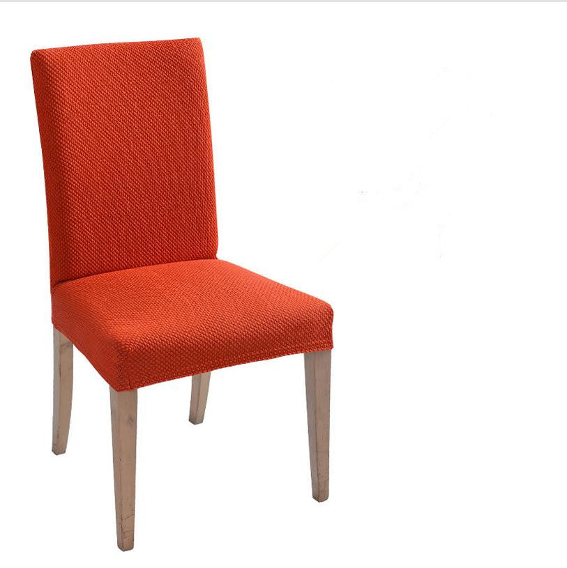 Costbuys  Top Chair Cloth Knitted Fabric Spandex Chair Cover Stretch Dining Chair Covers Party Banquet Offivce Computer Chair Co