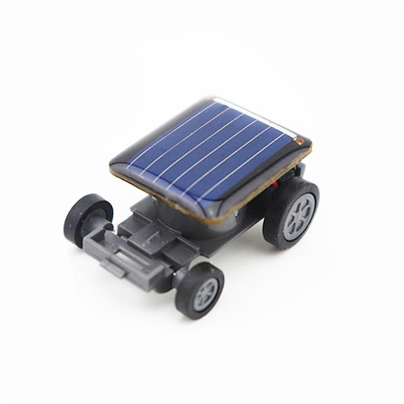 Costbuys  Toys for Children Kid Smallest Mini Car Solar Power Toy Car Racer Educational Gadget High Quality Cherryb - A