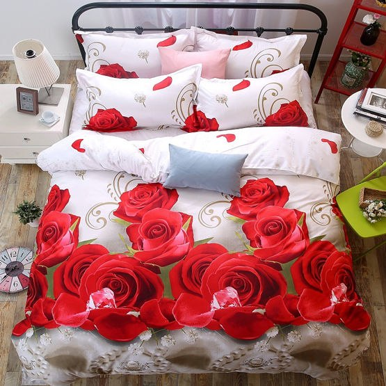 Costbuys  Bedding Set bed cover duvet cover sets linens bed in a bag sets bedclothes bed in a bag - as_8 / Queen_8