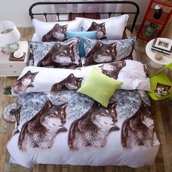 Costbuys  Bedding Set bed cover duvet cover sets linens bed in a bag sets bedclothes bed in a bag - as_6 / Queen_6