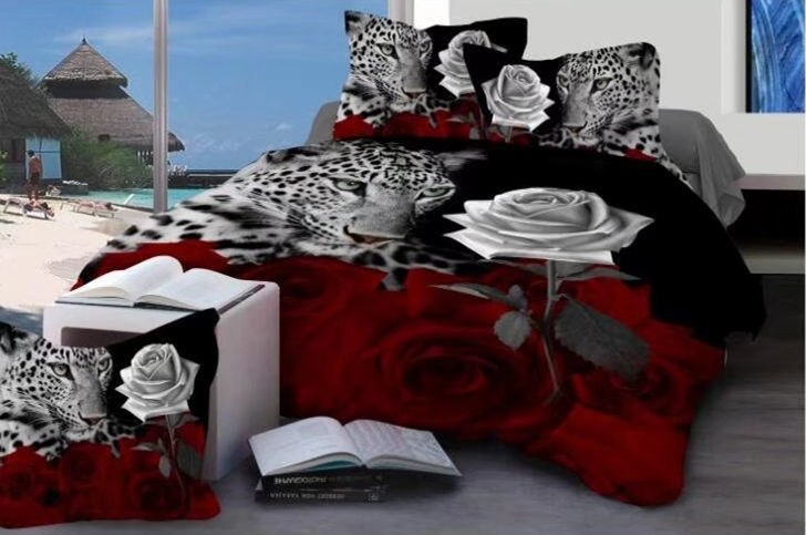 Costbuys  Bedding Set bed cover duvet cover sets linens bed in a bag sets bedclothes bed in a bag - as_11 / Queen_11