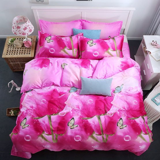 Costbuys  Bedding Set bed cover duvet cover sets linens bed in a bag sets bedclothes bed in a bag - as_7 / Queen_7