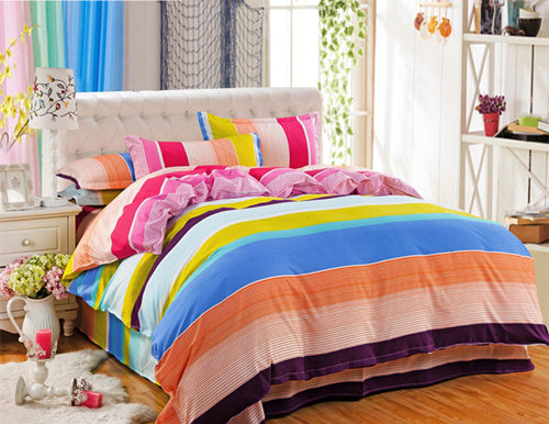 Costbuys  HOT Promotion Reactive Printing Bedding Set duvet cover set Bed linen Sheet Bedding - AS_1 / Queen_1