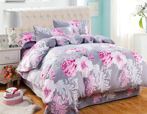 Costbuys  HOT Promotion Reactive Printing Bedding Set duvet cover set Bed linen Sheet Bedding - AS_15 / Queen_15