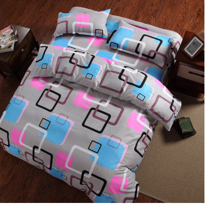 Costbuys  HOT Promotion Reactive Printing Bedding Set duvet cover set Bed linen Sheet Bedding - AS_21 / Queen_21