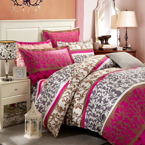 Costbuys  HOT Promotion Reactive Printing Bedding Set duvet cover set Bed linen Sheet Bedding - AS_27 / Queen_27