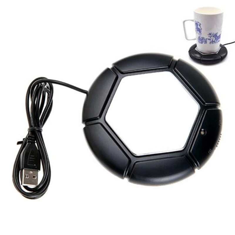 Costbuys  USB Warmer Cup Heater Tray Pad Desktop Portable Electronic Heat Insulation Plate Powered Cup Mug Warmer Coffee Tea USB