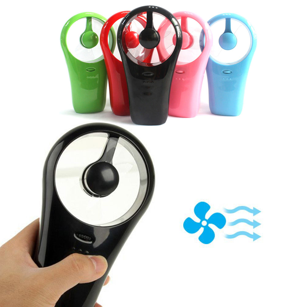 Costbuys  Ultra Portable Rechargeable Mini Cooling Fan USB Handheld Conditioner Battery Air Cooler USB Gadgets for Outdoor Life