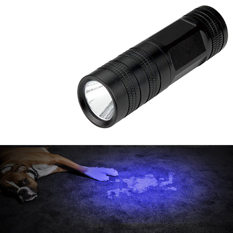 Costbuys  Portable Ultraviolet Flashlight WF-602C Wavelength 395nm-400nm Single File Flashlight Torch For Check Insects, Money -