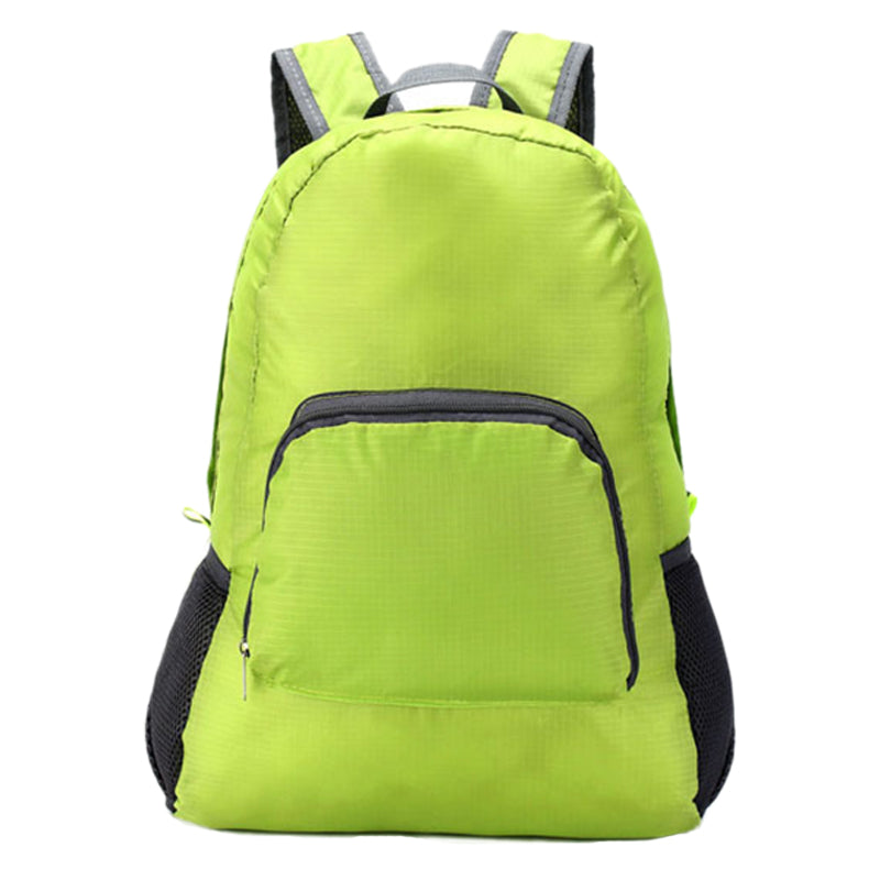 Costbuys  Unisex Outdoor Sports Waterproof Foldable Backpack Hiking Bag Camping Rucksack - Green