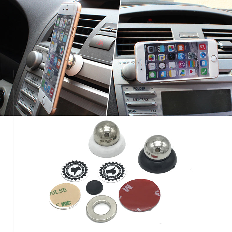 Costbuys  Universal Magnetic Car Air Vent Mount Phone Holder Magnet Mobile Phone Stand Support For iPhone Cell Phone Bracket Acc
