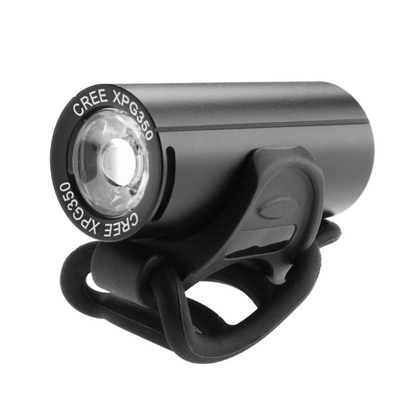 Costbuys  Usb Rechargeable Bike Light Front Handlebar Cycling 250LM XPG Led Light Flashlight Torch Headlight Bicycle Accessories