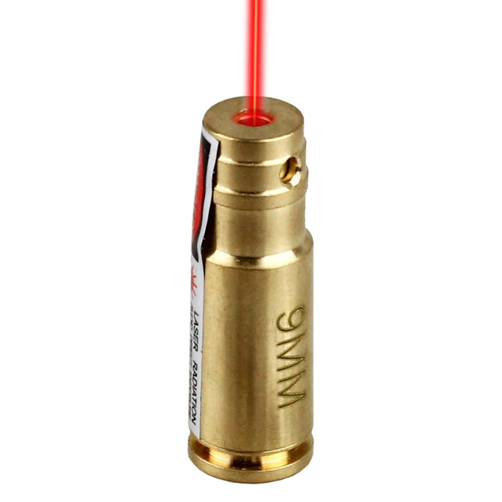 Costbuys  9mm Red Dot Laser Boresighter Bore Sight Caliber Cartridge For Rifel Scope Hunting