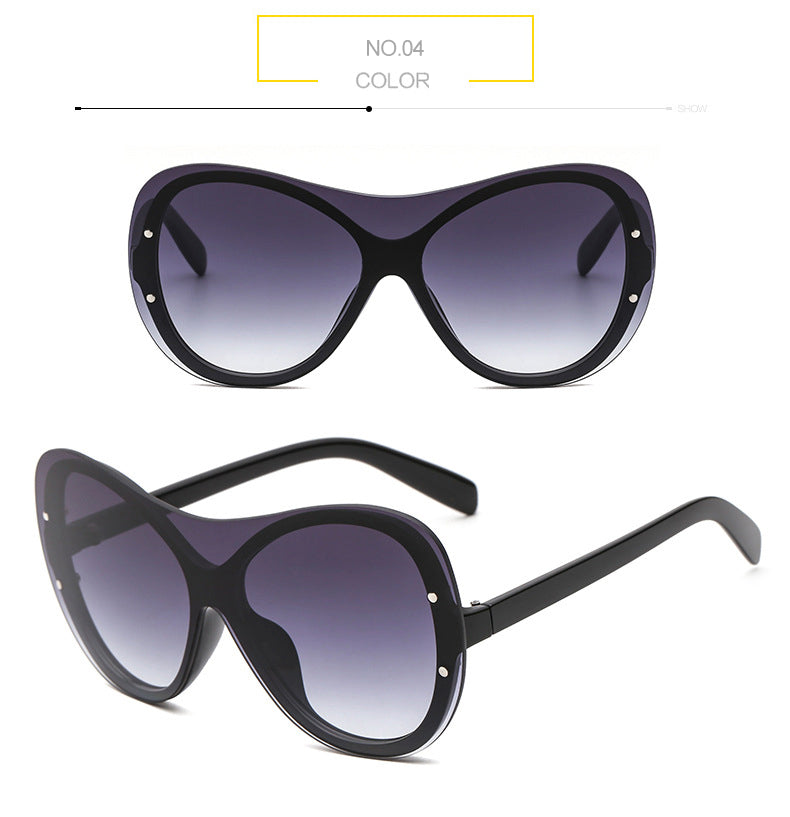 Costbuys  Clout Goggles Unisex Oversized Womens Sunglasses Color Lens Big Vision Sun Glasses for Men Outdoor Party Travel 1503L