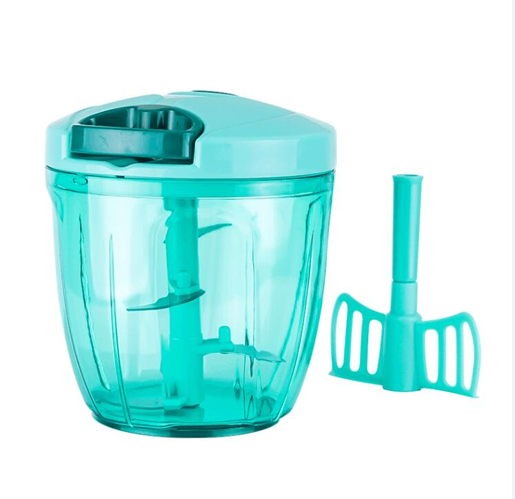 Costbuys  Vegetable Cutter Chopper Manual Slicers Shredder Meat Slicer Garlic Cutters Stainless Steel Blade Kitchen Gadget Kitch