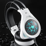 3.5mm Gaming headphone Earphone Gaming Headset with Mic Led Light for Computer PC Gamer Headset Over ear headphones