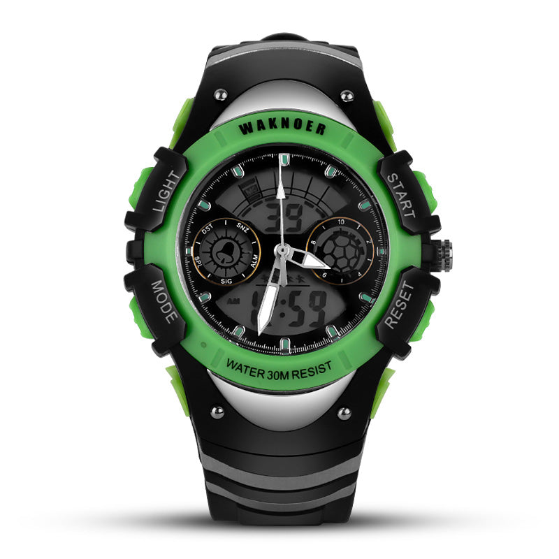 Costbuys  Mens Watches Top Luxury Men's LED Digital Watch Sport Men's Watch Men Watch Waterproof Clock relogio masculino - Green