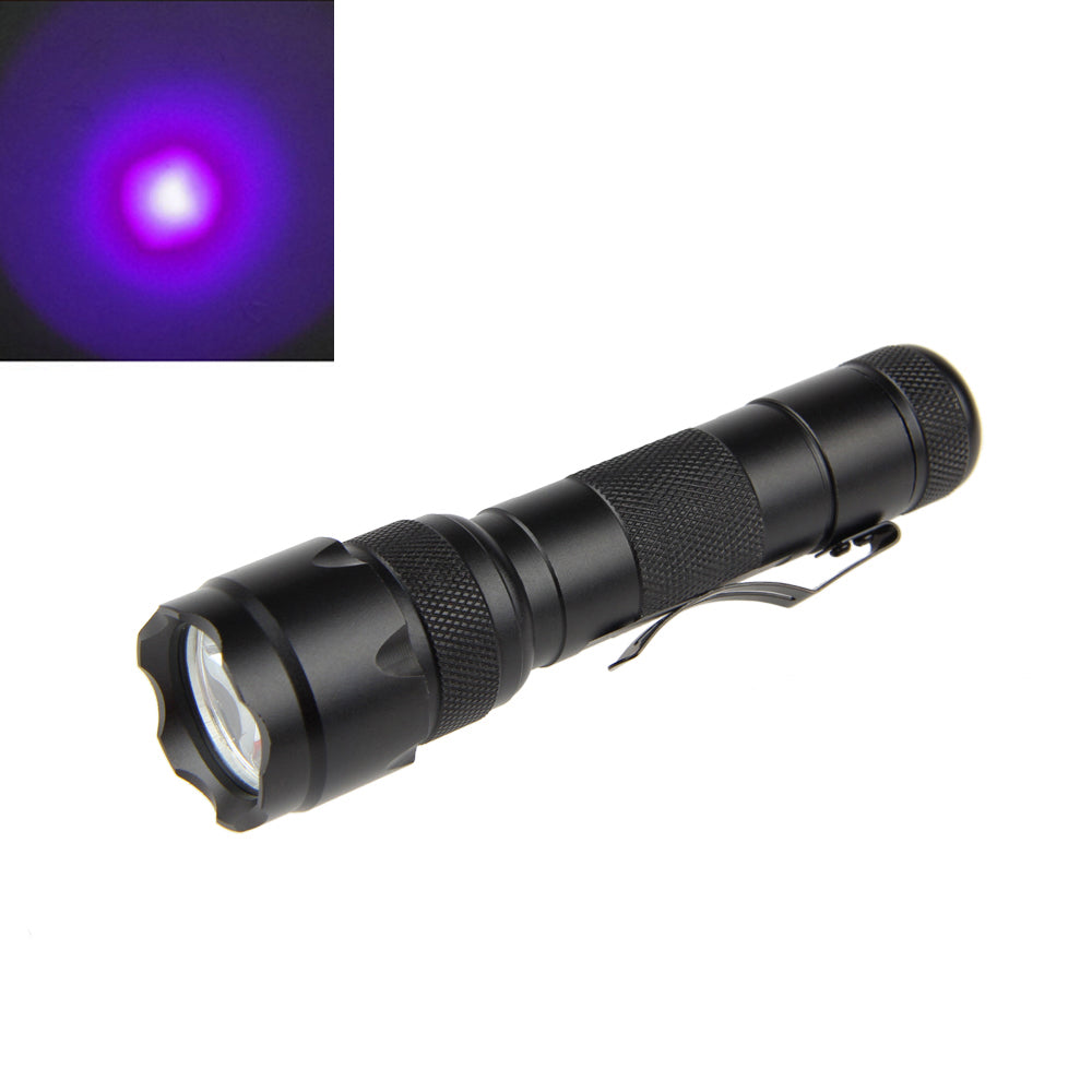 Costbuys  WF-502B UV Flashlight Ultra Violet Q5 LED Tactical Torch Mini Detection Light Only Lamp No Battery