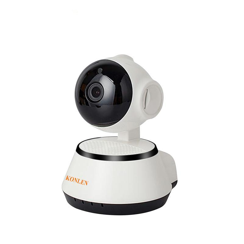 Costbuys  WIFI Security Network IP Camera Video CCTV Mini Wireless Pan Tilt HD 720P 1.0MP Home IP CAM Indoor Night Vision TF Aud