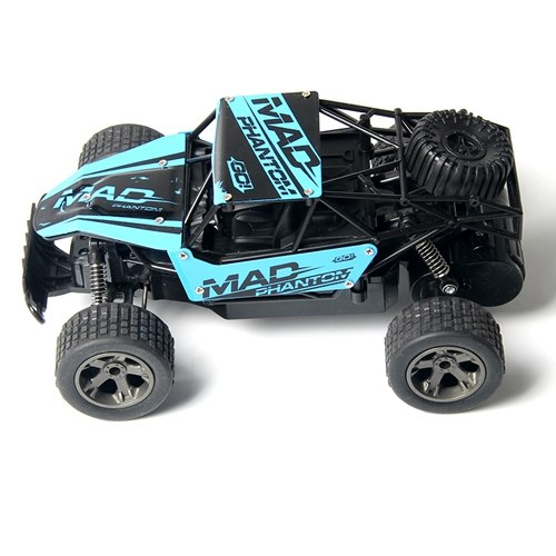 Costbuys  WLtoys RC Car 1:18 Yellow And Blue High Quality Metal And Plastic High Speed 4 Channel Remote Control Car Buggy Toy Fo