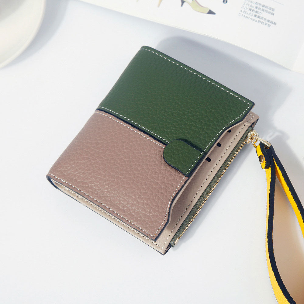 FASHION LADIES WOMENS LEATHER LUXURY SMALL CREDIT CARD /& COIN PURSE WALLET NE56