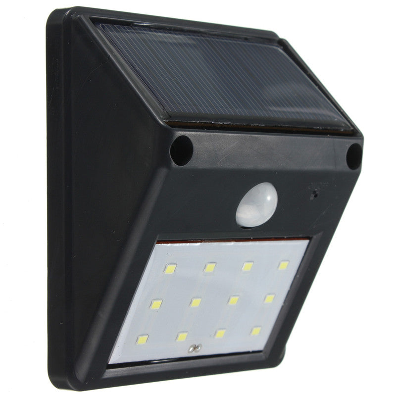 Costbuys  Waterproof 12 LED 2835 SMD LED Solar Light Outdoor Lighting PIR Motion Sensor Solar Power Lamp Garden Decoration Wall
