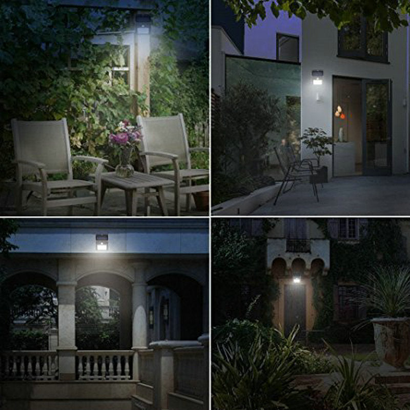 Costbuys  Waterproof 30 LED Solar Panel Power PIR Motion Sensor Wall Lamp Security Wireless Path Yard Garden Fence Night Light O