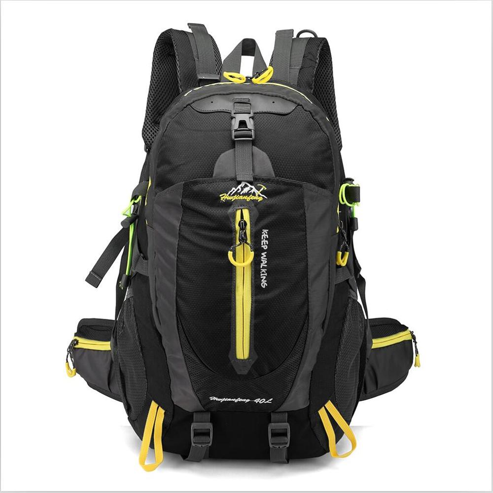 Costbuys  Waterproof Climbing Backpack Rucksack 40L Outdoor Sports Bag Travel Backpack Camping Hiking Backpack Women Trekking Ba