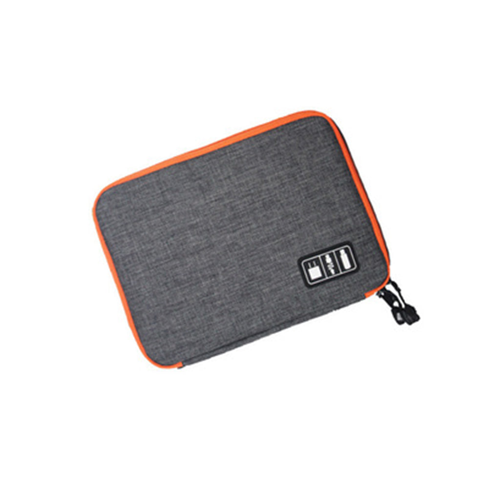 Costbuys  Waterproof Organizer Usb Data Cable Earphone Wire Pen Power Bank Travel Storage Bag Kit Case Digital Gadget Devices -
