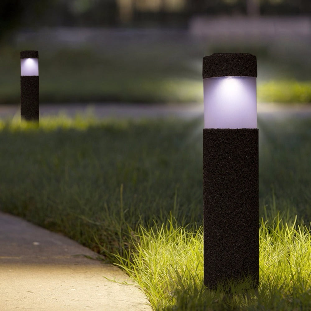 Costbuys  Waterproof Sunlight LED Solar Light For Garden Outdoor Solar Lamp For  Path Courtyard Stone Lamp luces solares para ex