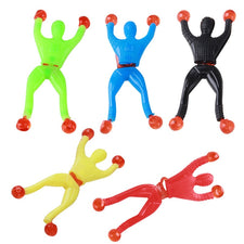 Wholesale 100pcs Funny Product Slime Spider-man Viscous Climbing Wall Spiderman Squeeze Villain Squishy Novelty Gadgets Kids Toy Novelty & Gag Toys