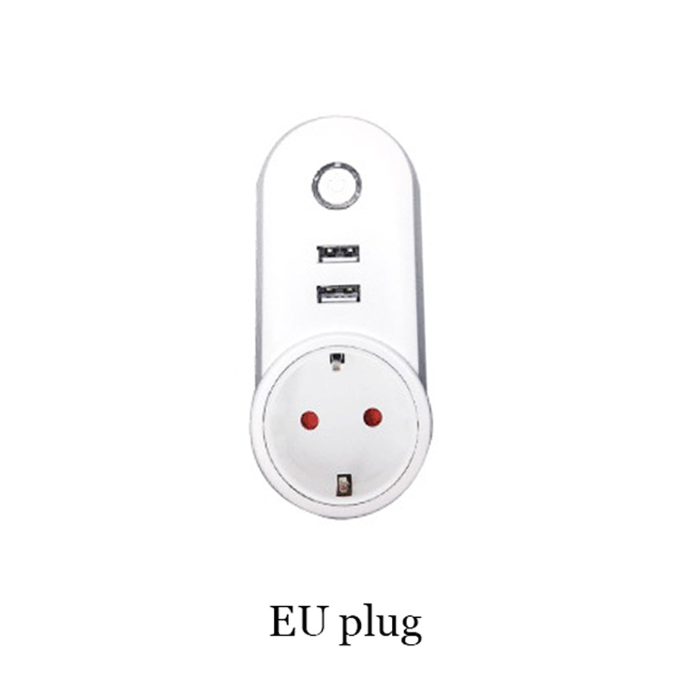 Costbuys  Wifi USB Smart EU US UK Power Socket  APP for Remote Control Socket Phone App for IOS Android - EU plug
