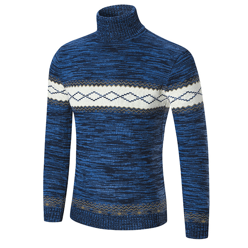 1200f1593d Winter High Neck Thick Warm Sweater Men Turtleneck Brand Mens Sweaters –  Costbuys