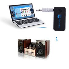 Wireless Bluetooth 4.1 Audio Music Receiver Adapter 3.5mm Stereo Music Home Car Kit Streaming Sound System