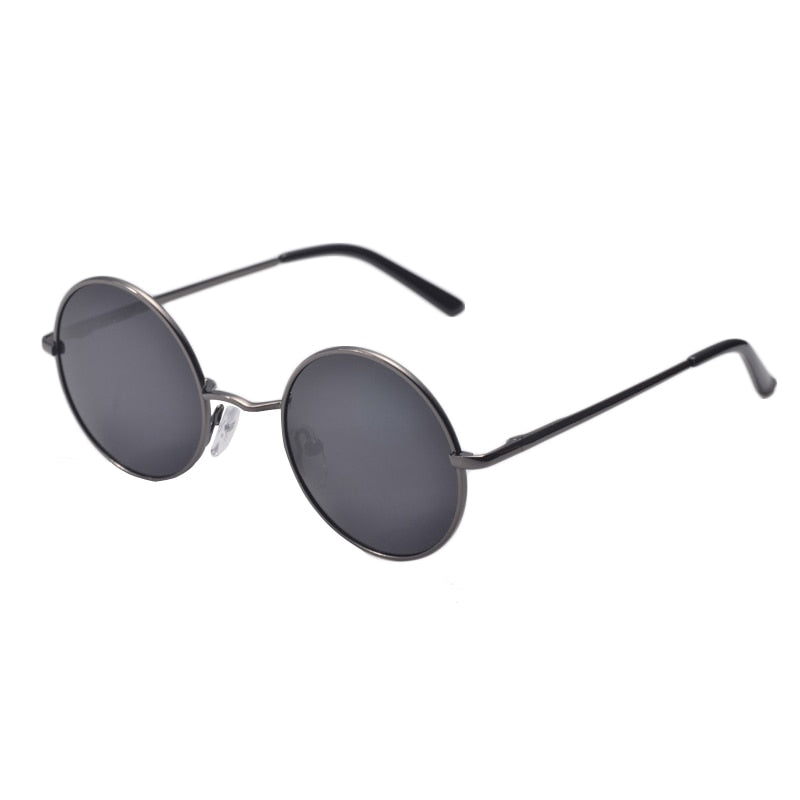Costbuys  Women Driving Metal Eyewear New Designer Classic Polarized Round Sunglasses Men Small Vintage Retro John Lennon Glasse