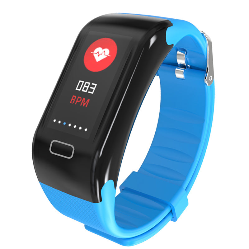 Costbuys  Women Men Smart Bracelet Watch Sport Waterproof blood pressure heart rate monitor blood oxygen Pedometer For Android I