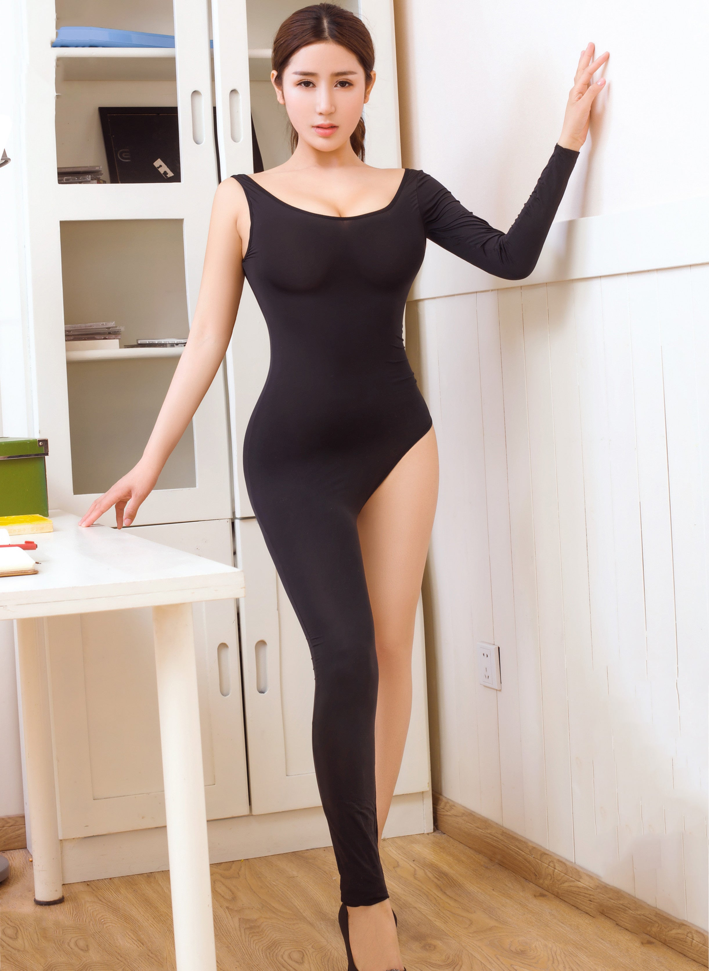 Women Tight Bodysuit Sexy Overalls Night Club Rompers