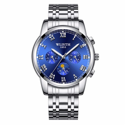 Costbuys  Wristwatch male watch watch for men's watches and watches in Mens/Womens Quartz Watches - 509 3 blue
