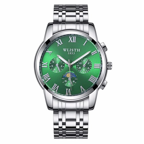 Costbuys  Wristwatch male watch watch for men's watches and watches in Mens/Womens Quartz Watches - 509 1 green